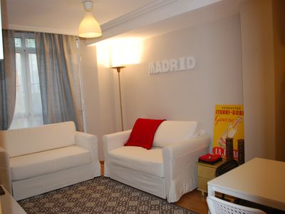 Photo for BEAUTIFUL APARTMENT IN MADRID WITH GARAGE PLACE NEAR PL. CASTILE