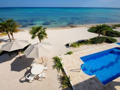 Photo for 3 Bedroom, 2 Bath Beach House with Pool. AC, Wifi. A short drive to Tulum.