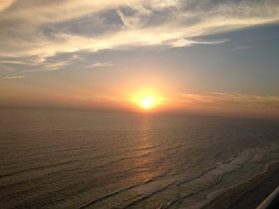 Beautiful Sunsets to watch from #2107 - private balcony