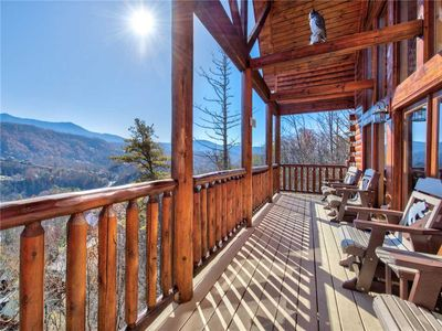 Photo for Bear's Eye View, 4 Bedrooms, Sleeps 14, Home Theater, Gaming, Hot Tub