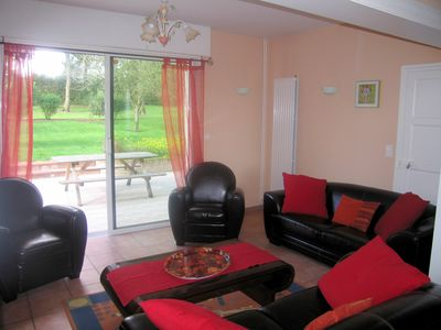 Photo for Gite in France, 3 stars, 11 prs, comfortable, relaxing, in natural environment