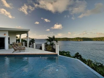 Photo for Peace Of Mind - Your St Thomas Escape-Private Ocean Front Views & Infinity Pool
