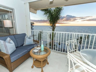 Photo for Continental Club-Luxuriously Renovated Beach Front 8th Flr. Condo w/amazing Gulf views!