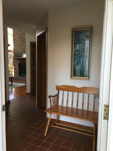 Front entryway.