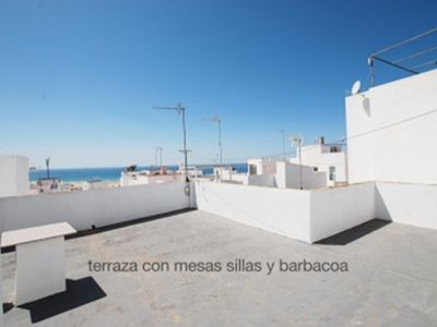 Photo for apartment with sea views and barbecue