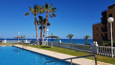 Photo for Lovely Apartment, Pool & Sea View