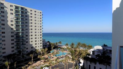 Photo for LUXURY APT ON THE BEACH**AMAZING OCEAN VIEWS**SPACIOUS & UPDATED**SLEEPS 6**