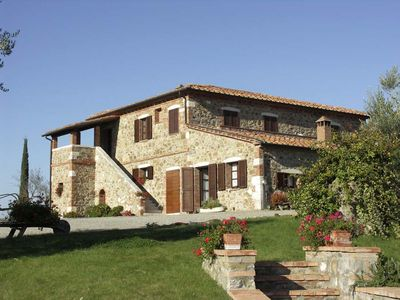 Photo for 6 bedroom Villa, sleeps 12 in Rocca d'Orcia with Pool and WiFi
