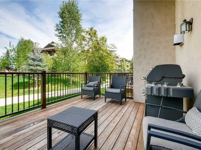 Photo for Spacious Summer Mountain Townhome w/Private Deck & Garage