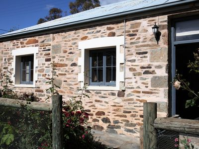 Photo for Heritage stone cottage with two bedrooms in delightful garden setting