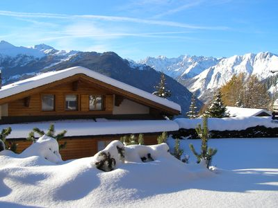 Photo for VERBIER:  LAST MINUTE SPECIAL OFFER  12-19 MARCH! Modernised duplex apartment