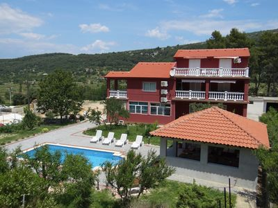 Photo for Holiday apartment with pool and barbecue