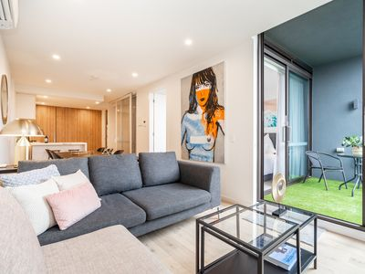 Photo for Brand new luxury apartment! St Kilda. Balaclava.