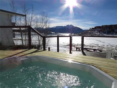 Photo for Dillon Ski Condo - Near Outdoor Hot Tub, Sauna, Incredible Mountain Views, Easy Access to Resorts