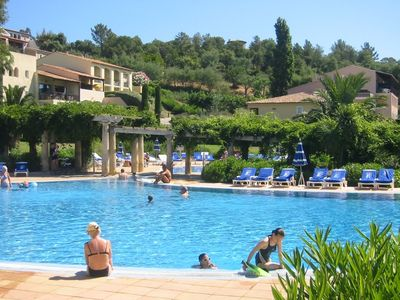 Photo for Close to St Tropez - Ste Maxime, F2 P & V, 500 m from the beach
