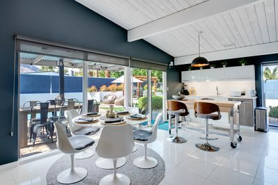 Dining Area - The open kitchen and dining space offers a great flow for entertaining.