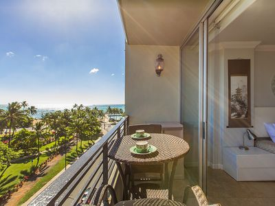 The Best View in Waikiki, only steps away from the best beach in the world