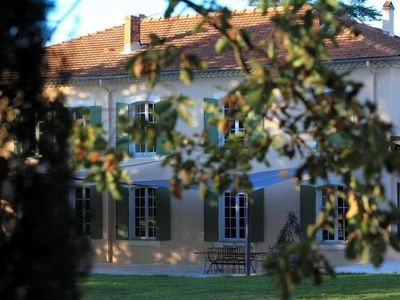 Photo for Maison 'R' -A genuine Provencal Bastide in middle of a vineyards with a pool