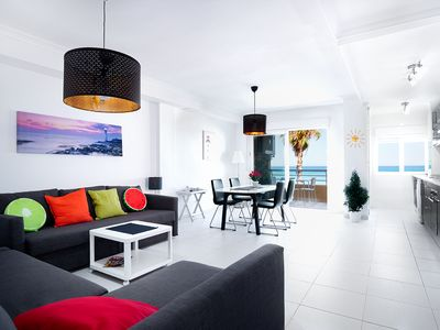 Photo for Modern Beach Apartment with amazing sea view; free garage