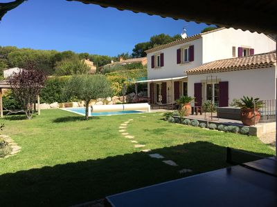 Photo for LARGE PROVENCAL VILLA FOR 10 PEOPLE WITH PRIVATE SWIMMING POOL