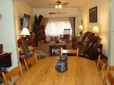 Photo for The Bear Den - Lovely 2 Bedroom 1 Bath home close to skiing, snowmobiling & more