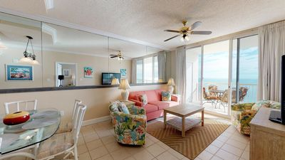 Photo for Great for Families-Gulf Front Spacious Condo-Clubhouse Amenities!