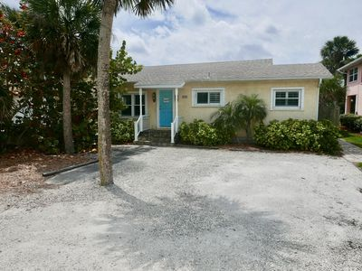 Photo for Colorful NSB Home W/ Bonus Guest Cottage! Easy Beach Access and Walk to Flagler!
