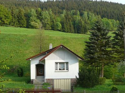 Photo for Detached holiday home situated by a stream in the heart of the Thuringian Forest