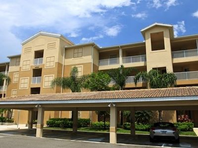Photo for Legends Blvd N #308 -water and golf views from the third floor screened lanai