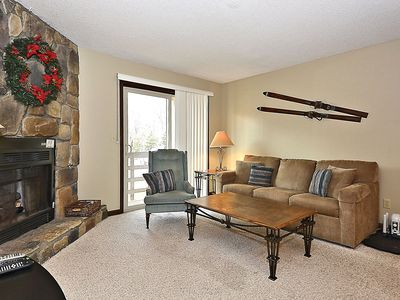 Photo for Eagles Nest is ground floor condo just steps from the ski lift at Timberline!