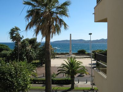 "Photo for APARTMENT FRONT OF SEA ST RAPHAEL ""Beautiful shore"""