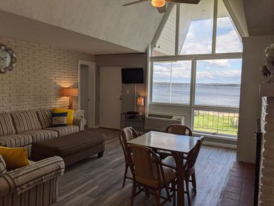 Photo for Newly Remodeled Lakefront Condo on Crooked Lake