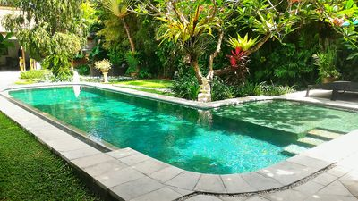 Photo for 6 Bedrooms / 2 Private Pool Villas / 2 Pools, Seminyak Central, Staff service