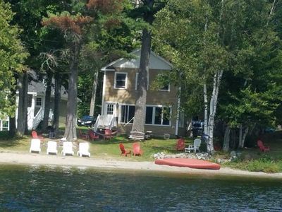 Front of house lakeside