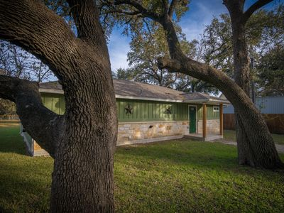 Photo for Duke's Horseshoe House- on the Guadalupe River, across from Whitewater Amphitheater!