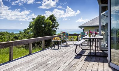 Terrace and sun deck with panoramic views.
