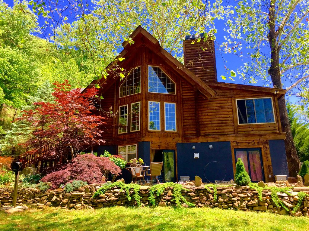 rental cabin the cabins rentals nantahala cherokee getaway perfect mountain nc luxury