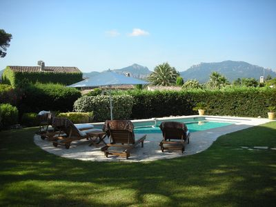 Photo for Luxury villa with private pool in Mandelieu La Napoule