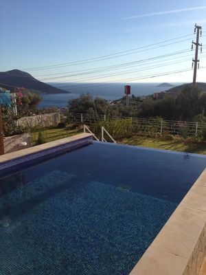 Photo for Kalkan huge 3 bed apartment with veiws of the bays