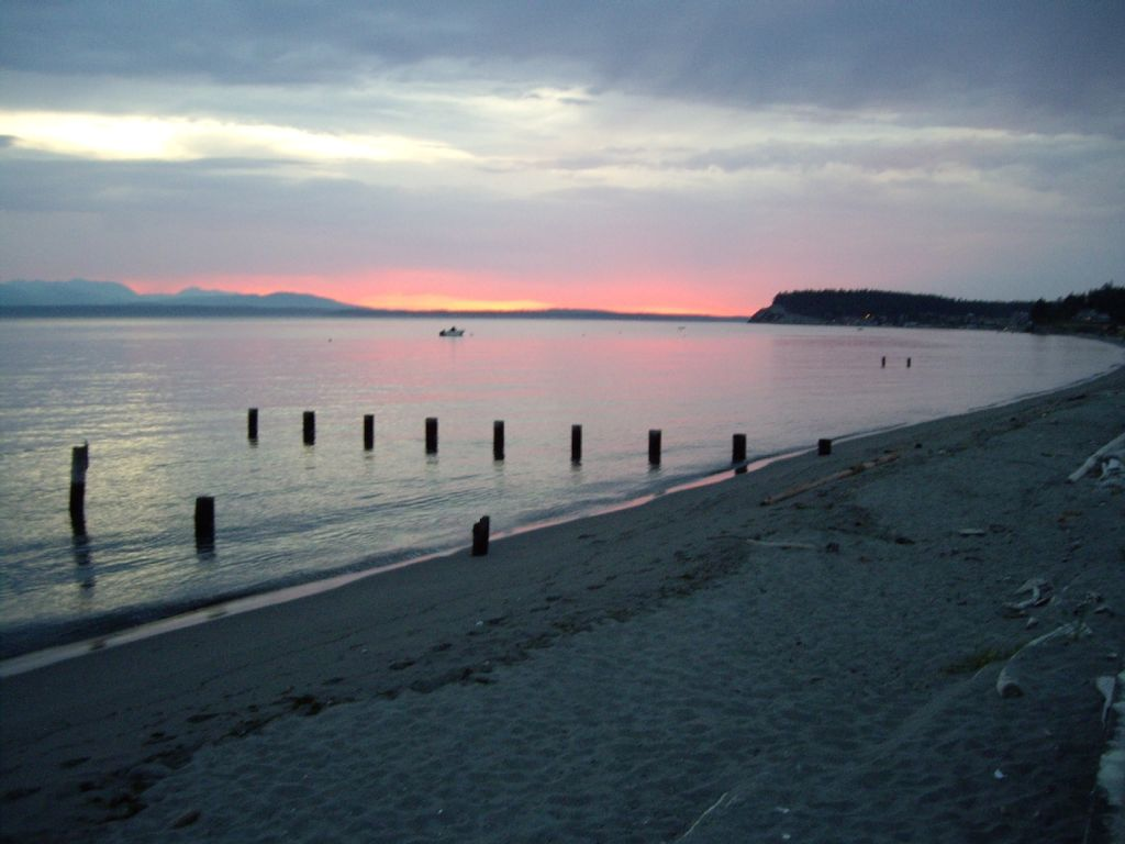 Spectacular Whidbey Island Sandy Beach Estate Mutiny Bay