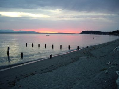 Photo for Spectacular Whidbey Island Sandy Beach Estate - Mutiny Bay