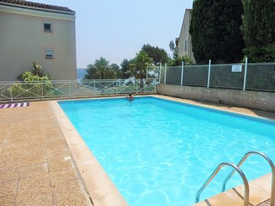 Photo for Sea View, garden with barbecue, swimming pool