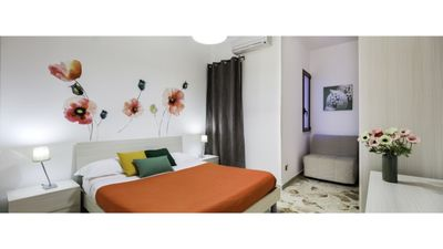 Photo for Apartment with kitchen and balcony 5-6 beds 1 km from the LGBT friendly sea