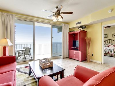 Photo for Large private balcony with breath taking views of the Gulf -FREE Activities!-