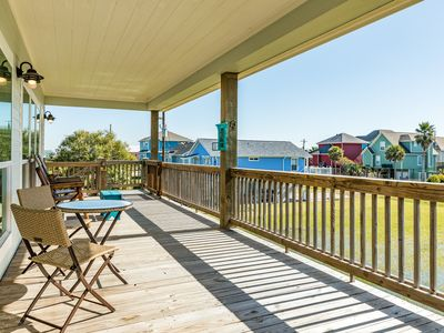 Photo for NEW LISTING! Beautiful, dog-friendly home w/gas grill - short walk to the beach