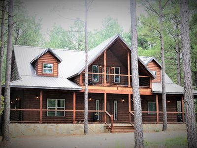 Take it Easy  Western Luxury Cabin in Beavers Bend