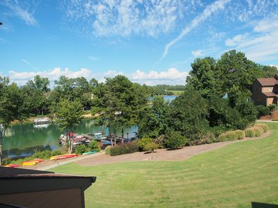 Photo for Luxury Water Front Town Home On Picturesque Lake Keowee