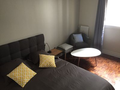 Fully equipped studio, 2 steps from Montmartre, 100m from Place de Clichy metro