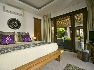 Photo for Baan Tai Tara 1 - a gorgeous private villa