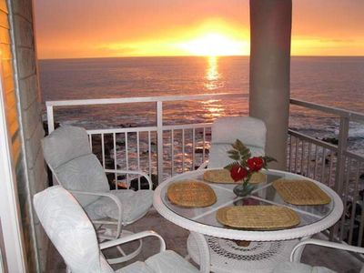 Photo for Oceanfront Lanai Escape on Kona w/ Shared Pool, Hot Tub, BBQ Area